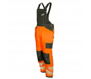 Bib pants Hi-Vis orange EASYGO CANNYGO