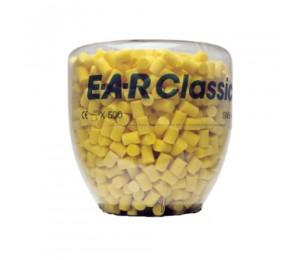 Kamštukai ausims kolboje EAR Classic , 500vnt.