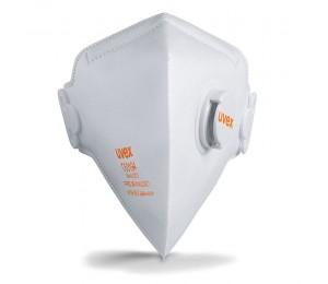 Respiratorius FFP2 su vožtuvėliu (sulankstomas) UVEX