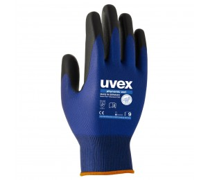 Gloves coated PU UVEX PHYNOMIC WET 60060