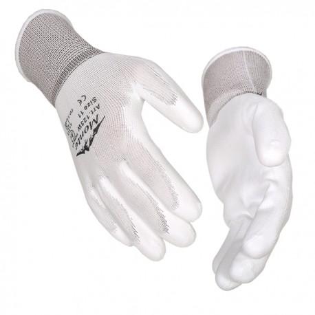 Pirštinės aplietos baltu PU, Monte 123