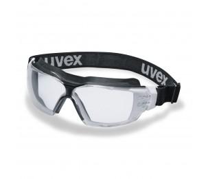 Akiniai sferiniai su gumele skaidrūs Pheos CX2 UVEX 9309275