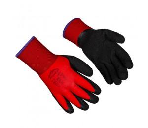 Gloves coated latex microfoam warm 1207F MONTE