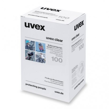 Drėgnos vienkartinės servetėlės UVEX 9963000