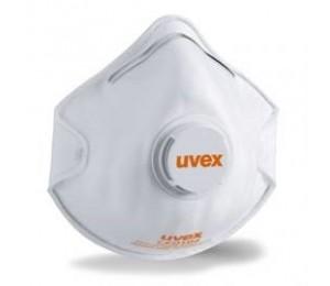 Respiratorius UVEX FFP2 2210 su vožtuvėliu