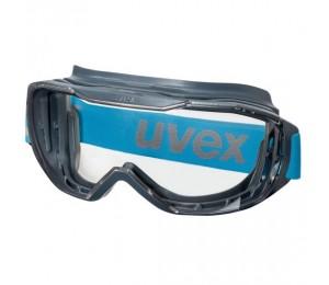 Akiniai sferiniai su gumele skaidrūs Megasonic UVEX 9320265
