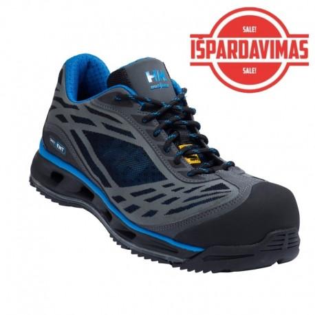 Pusbačiai Magni H/H S1P ESD SRC, juodi-mėlyni