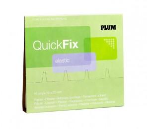 Dispenserio papildymas elastiniais pleistrais 5512 PLUM 45 vnt.
