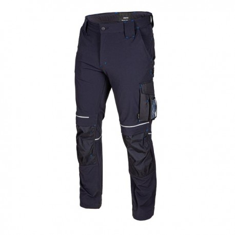 Trousers navy STRETCH REWELLY