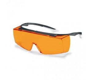 Akiniai apsauginiai oranžiniai Super F OTG UVEX 9169615