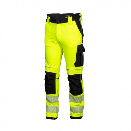 Trousers HI-VIS yellow STRETCH REWELLY