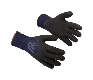 Gloves coated latex Monte 1204F